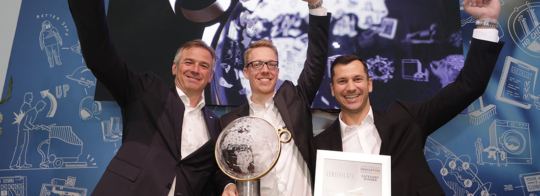 Interclean: Karcher vince l'Amsterdam Innovation Award 2018